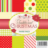 Wild Rose Studio - 6''x6'' Paper Pack - Traditional Xmas