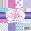 Wild Rose Studio - 6''x6'' Paper Pack - Wintry Christmas