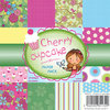 Wild Rose Studio - 6''x6'' Paper Pack - Cherry Cupcake