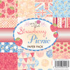Wild Rose Studio - 6''x6'' Paper Pack - Strawberry Picnic