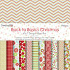 Dovecraft - 6''x6'' Back to Basics Christmas Modern