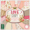 First Edition 6'' x 6'' Paper Pad - Love Story