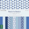 Dovecraft - 12''x12'' Paper Pack - Back to Basics - Blue Skies