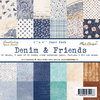 Maja Design - 6''x6'' Paper Pack - Denim & Friends